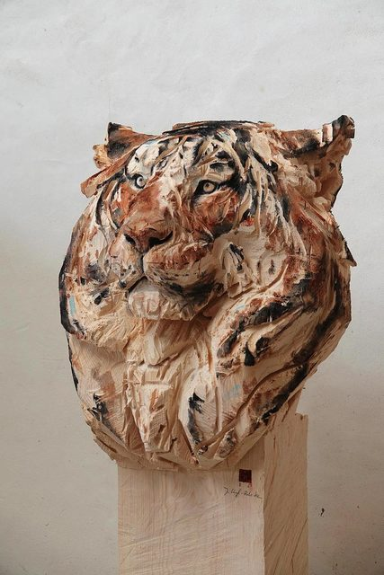 Jürgen Lingl-Rebetez, 'Buste de Tigre', 2019, Absolute Art Gallery