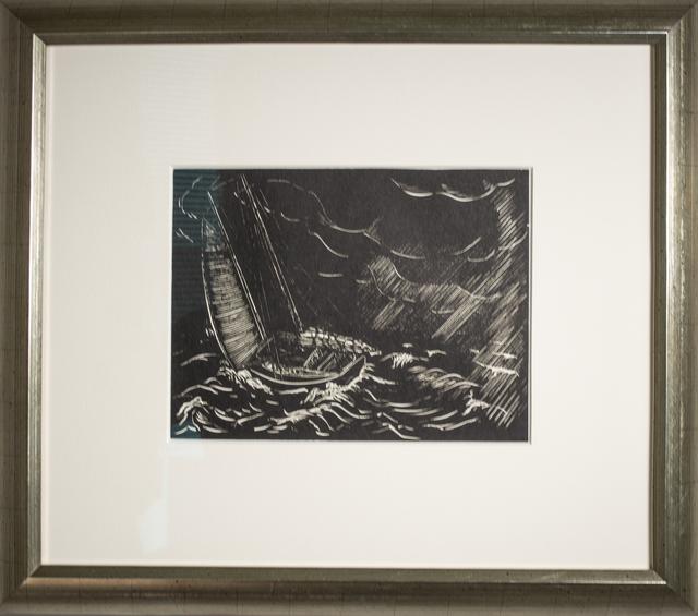 , 'Squall,' 1937, David Barnett Gallery