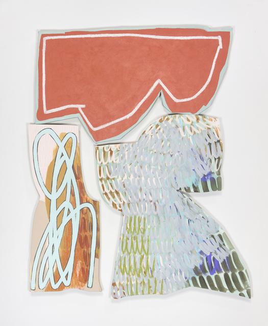 , 'Bookend 6,' 2018, Denny Gallery