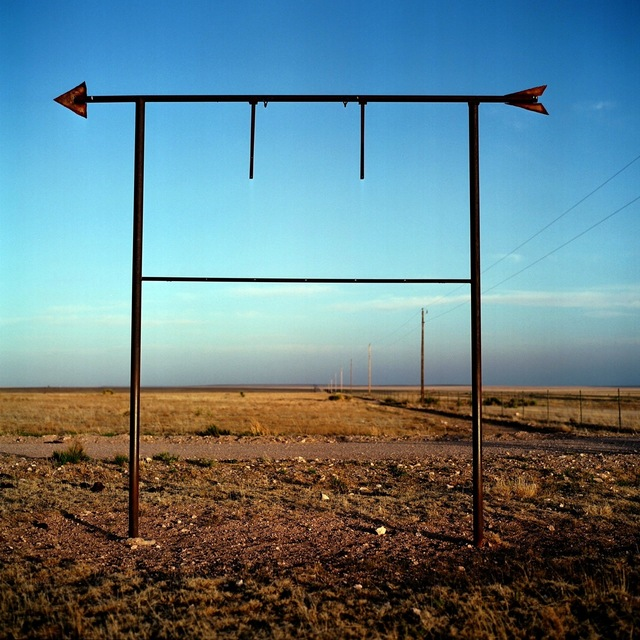 Allison V. Smith, 'Road to Valentine. May 2008. Outside Lobo, Texas', 2012, Barry Whistler Gallery