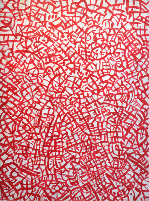 , 'Sound in Red,' 2015, Carter Burden Gallery