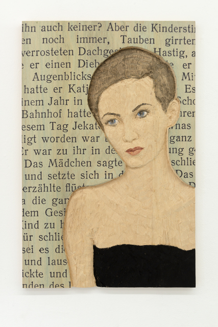 , 'Relief Woman with text by  Carl Gustav Jung,' 2015, Akinci