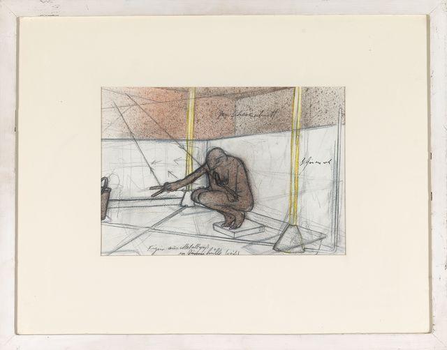 , 'Ohne Titel (Metallguß in Gummihülle [weiß]),' 1975, Galerie Elisabeth & Klaus Thoman