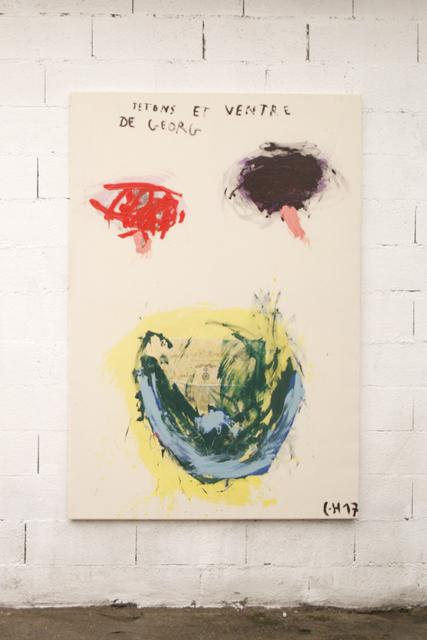 Charles Husser, 'Tétons et ventre de Georg', 2018, Galeria Miquel Alzueta