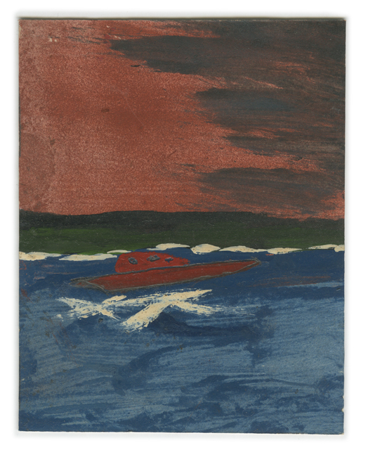 , 'Landscape Series, Antigua: Hurricane Sky and Speedboat,' , Ingleby Gallery