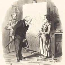 Honoré Daumier, 'Madame, j'ai bien l'honneur!', 1848, National Gallery of Art, Washington, D.C.