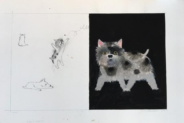 , 'Kinda Terrier,' 2002-2003, Dog & Horse Fine Art
