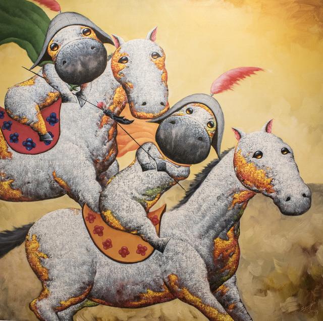 , 'Victorious II 凯旋归来 II ,' 2015, Art WeMe Contemporary Gallery