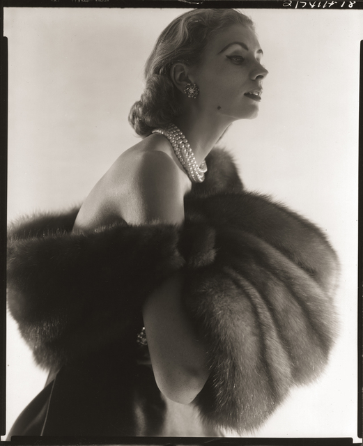, 'Suzy Parker, Fur Series for Vogue,' 1949, Robert Klein Gallery