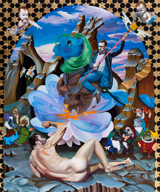, 'Puer Aeternus and the Divine Child,' 2013, Kourd Gallery