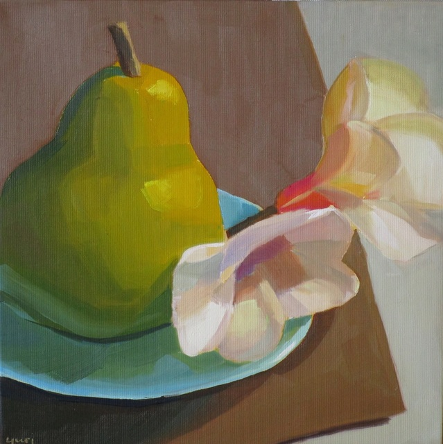 Yuri Tayshete, 'Pear and Magnolia', 2019, 440 Gallery