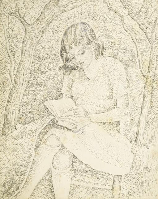 Marie Vorobieff Marevna, 'Girl reading', 1931, Roseberys