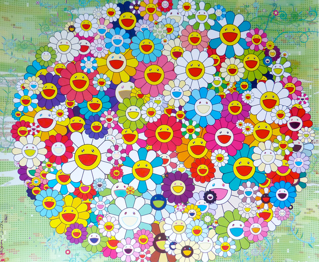 Takashi Murakami, 'Open Your Hands Wide (Versailles)', 2010, Soho Contemporary Art