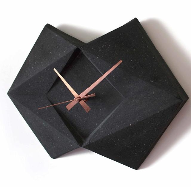 , 'Ash Wall Clock,' 2015, Anáhuac