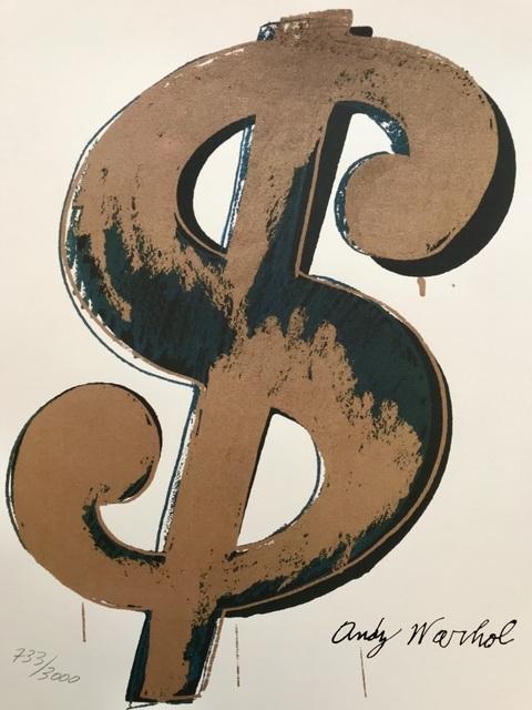 , 'Dollar Sign,' ca. 1980, ByNewArt