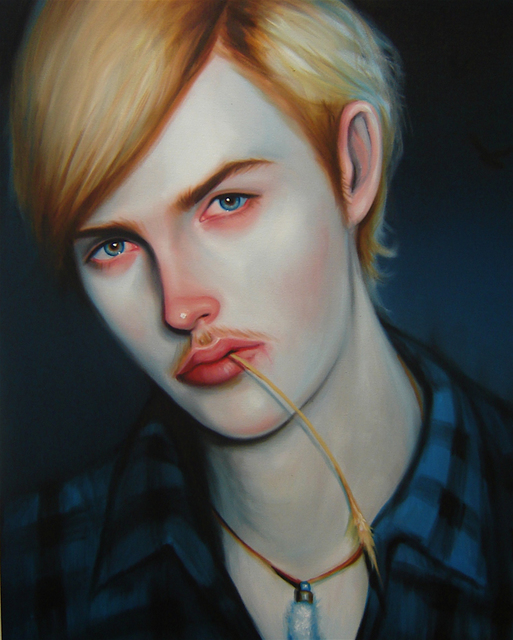 Kris Knight, 'Mill Zombie-Prom King', 2008, Painting, Oil, Spinello Projects