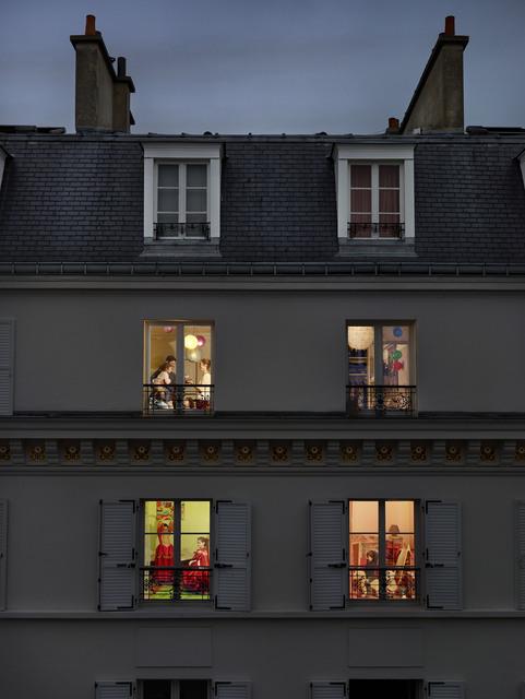 , 'Rue Lemercier, Paris, 17E, Le 17 Novembre,' 2013, Jackson Fine Art