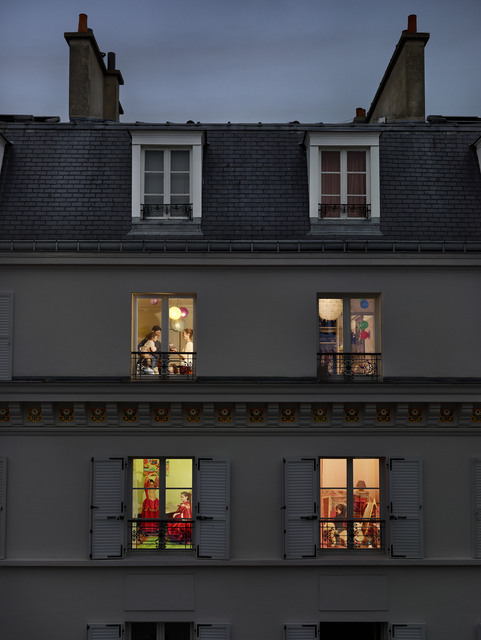 Gail Albert Halaban, 'Rue Lemercier, Paris, 17E, Le 17 Novembre', 2013, Jackson Fine Art