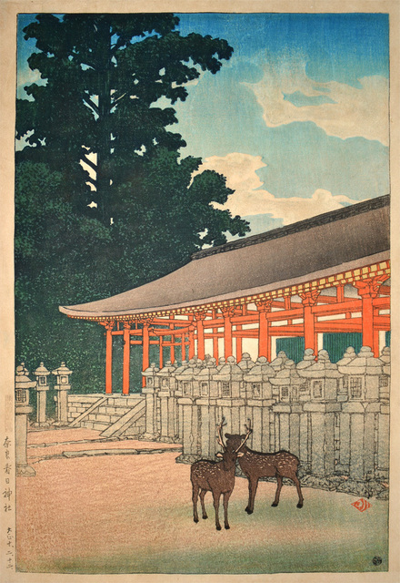 , 'The Kasuga Shrine in Nara,' 1921, Ronin Gallery