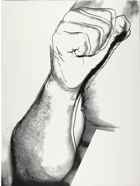 Andy Warhol, 'Muhammad Ali (See F. & S. II.181)', 1978, Print, Screenprint in black on paper, Christie's Warhol Sale
