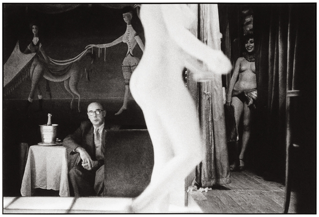 Frank Horvat, 'Paris , Le Sphynx H', 1956, Photography, Platinum  print on Aquarell paper, °CLAIRbyKahn Galerie