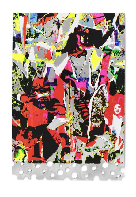 , 'Silver Memory,' 2015, STPI
