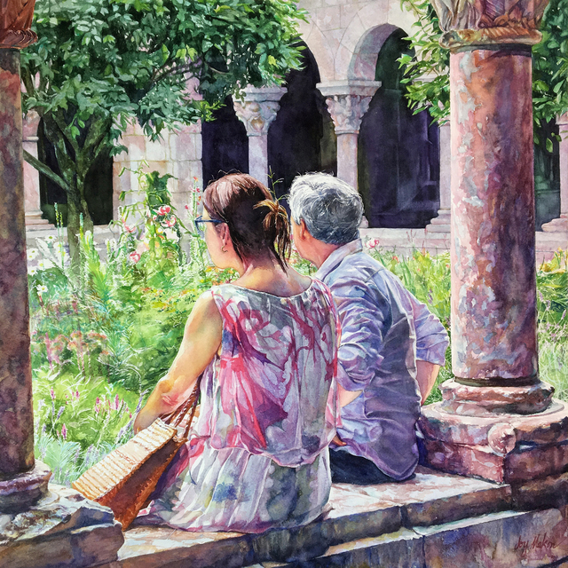 , 'Afternoon At The Cloisters,' 2018, 440 Gallery
