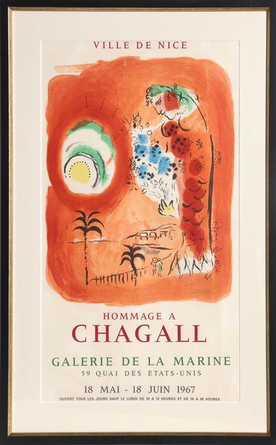 Marc Chagall, 'La Baie des Anges - Galerie de la Marine', 1967, RoGallery