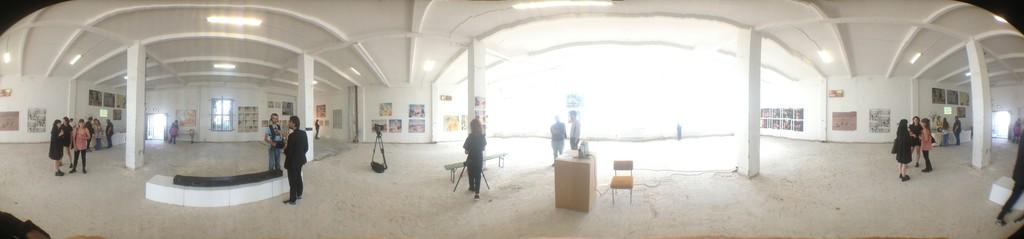 Panorama interior shot / pre opening