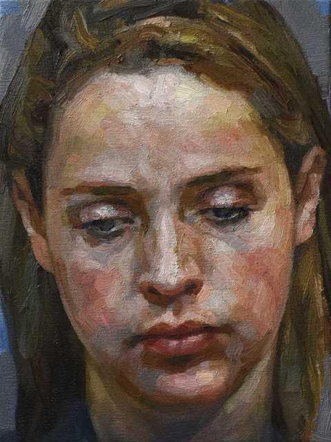 , 'Head Of A Woman,' 2018, Reuben Colley Fine Art