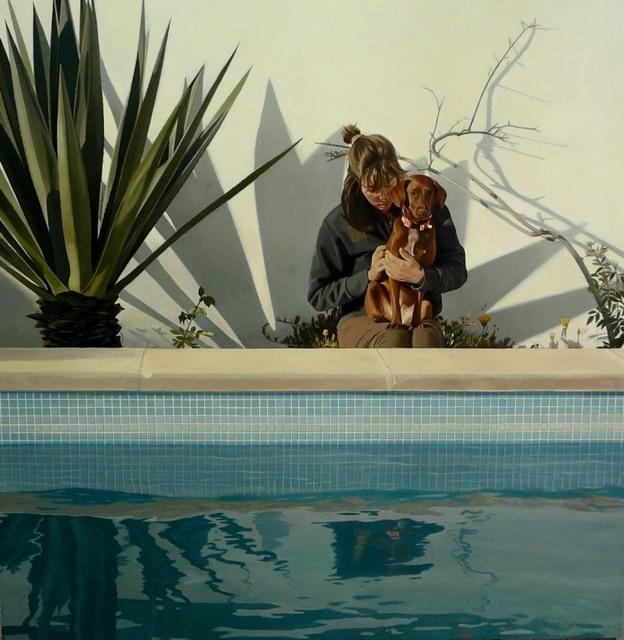, 'En la piscina,' , Sala Parés
