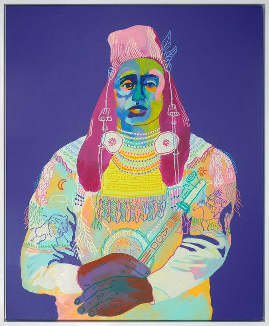 , 'Medicine Crow 1880,' 2017, Rebecca Hossack Art Gallery