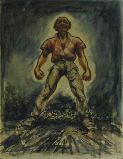 , 'Untitled (Man Standing Tall),' ca. 1950, Dolan/Maxwell