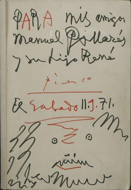 Pablo Picasso, 'Untitled', 1971, N2 Galería