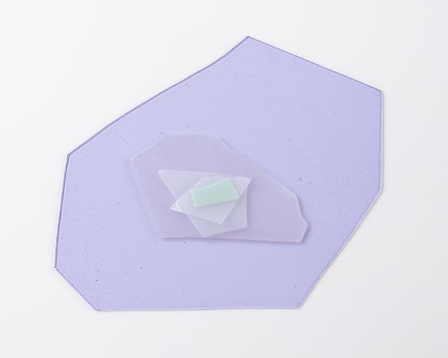 , 'Purple Stack,' 2018, Kopeikin Gallery
