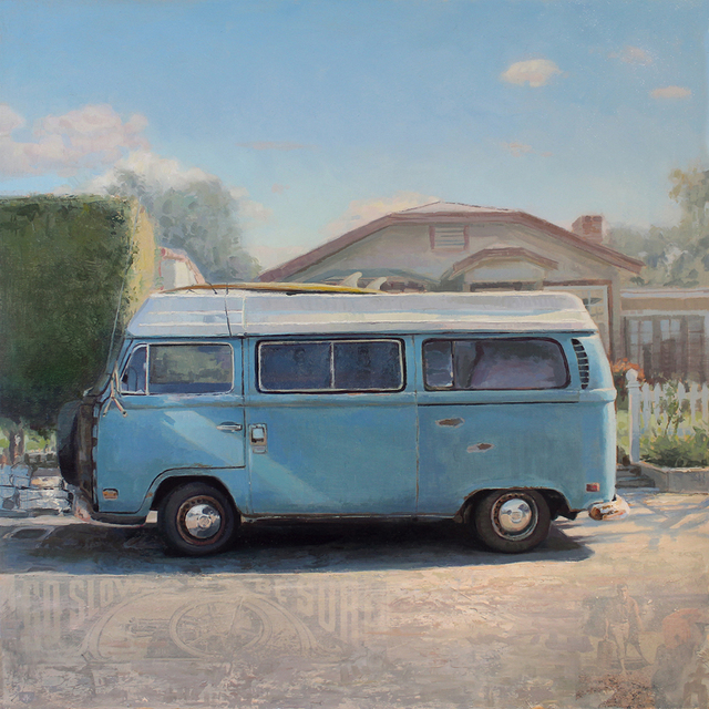 , 'Blue California Classic,' 2020, Sue Greenwood Fine Art