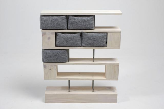 , 'Shelf on pilotis,' 2013, Athena Contemporânea