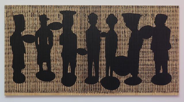 , 'Code noir 7,' 2018, Richard Taittinger Gallery