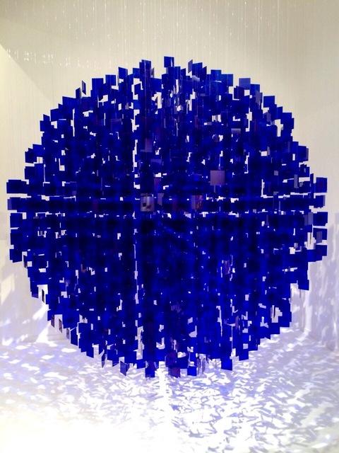 , 'Sphere Bleu, No 1,' 2001, Galeria Sur