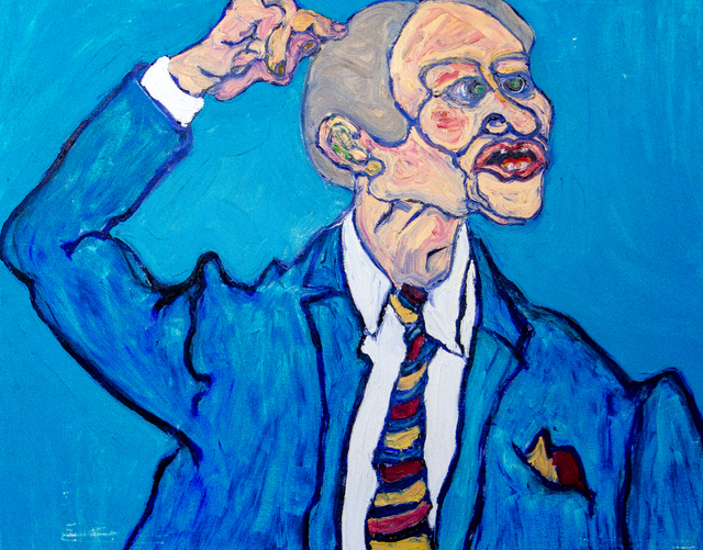 , 'Man in Blue Suit,' ca. 1980, Untitled 2.0