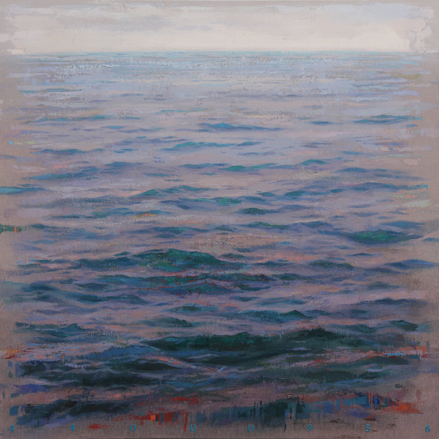 , 'Sea Blue,' 2018, Gallery Victor Armendariz