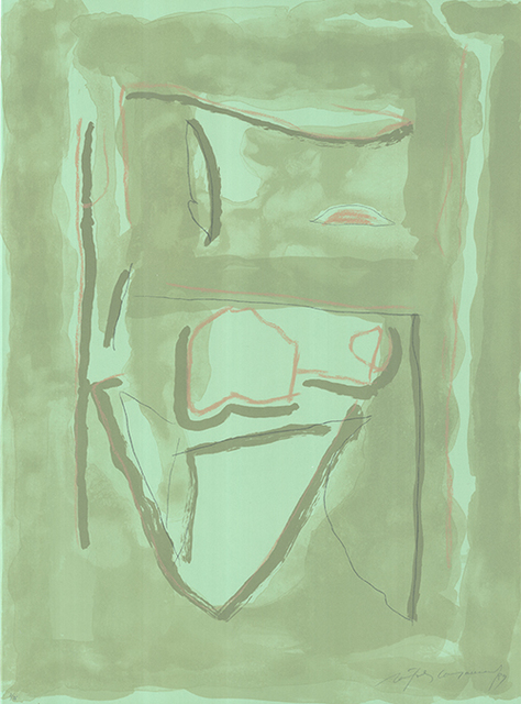 Albert Ràfols-Casamada, 'Xipre-2', 1989, Sylvan Cole Gallery