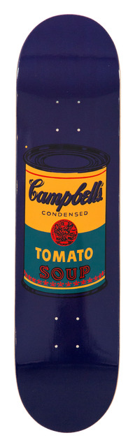 Andy Warhol, 'Colored Campbell's Soup Teal', 2019, Installation, Screenprint on 7 ply grade A  Canadian maple wood., artrepublic