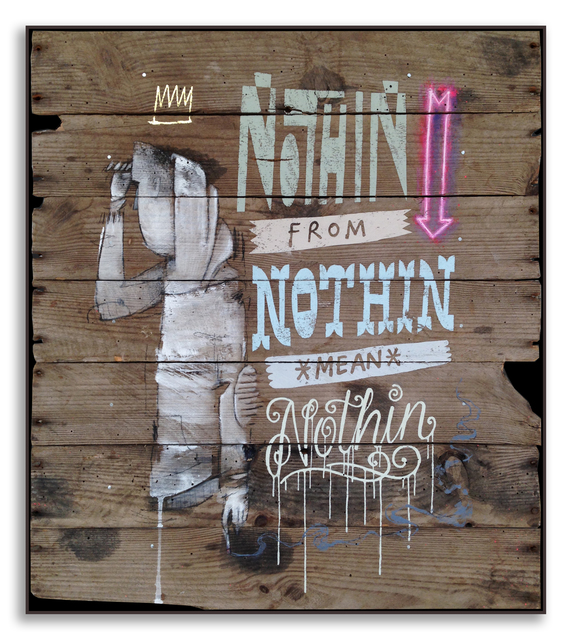 , 'Nothin From Nothin,' 2014, StolenSpace Gallery