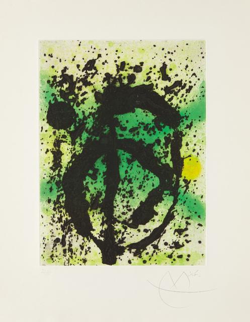 Joan Miró, 'Regne vegetal (United Plant Kingdom)', 1968, Phillips