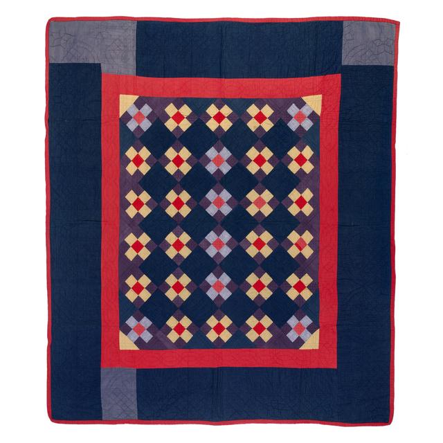 'Nine Patch', circa 1920, Textile Arts, Coton, PIASA