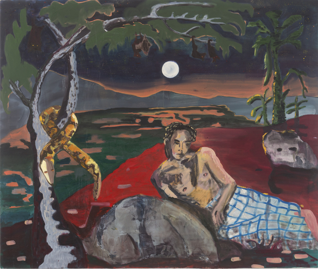 , 'Lover at Woodland Creek (Bat's Land),' 2018, Taymour Grahne