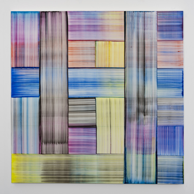 Bernard Frize, 'Zeul', 2019, Painting, Acrylic and resin on canvas, Gow Langsford Gallery