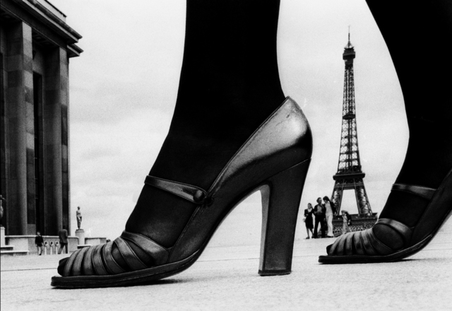 , 'For Stern, Shoe and Eiffel Tower (D), Paris                                                                 ,' 1974, Holden Luntz Gallery