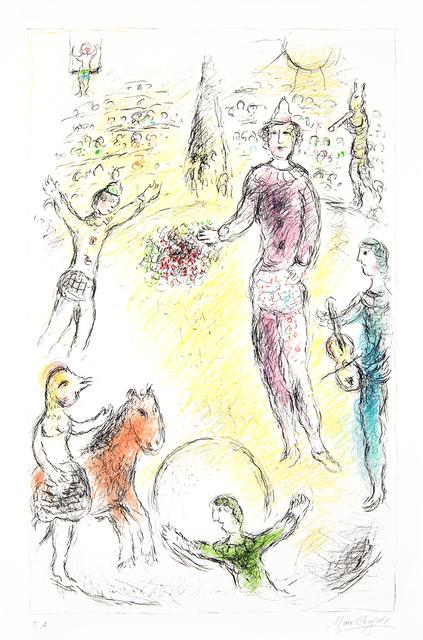 Marc Chagall, 'Les Clowns Musiciens (Musical Clowns)', 1980, Masterworks Fine Art